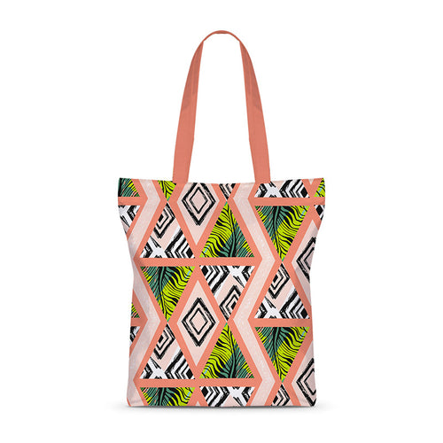 Tribal Pastels Basic Tote Bag