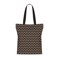 Vintage Wave Luxury Basic Tote Bag