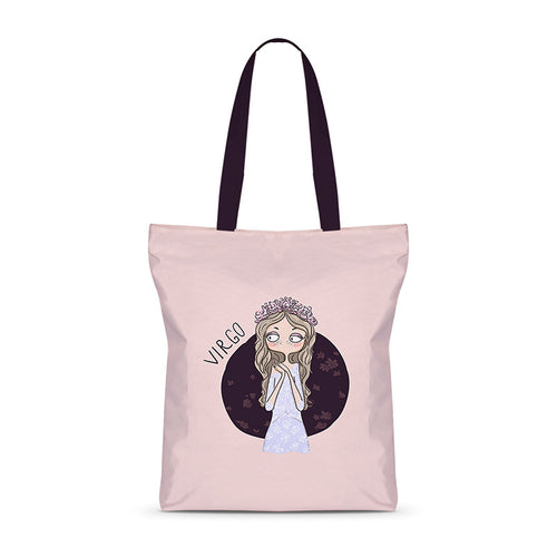 Voguish Virgo Basic Tote Bag