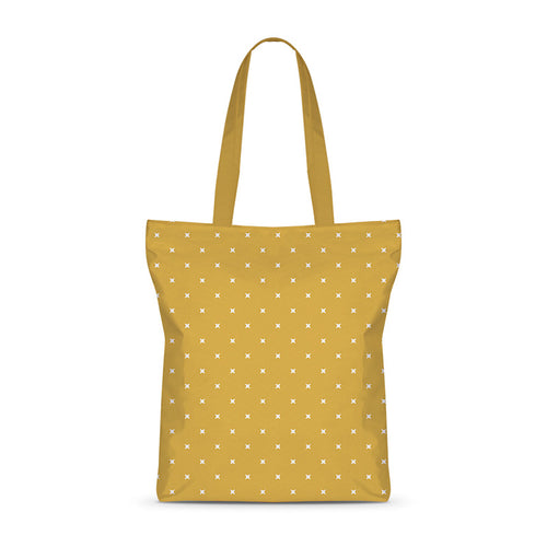 White Spots Basic Tote Bag