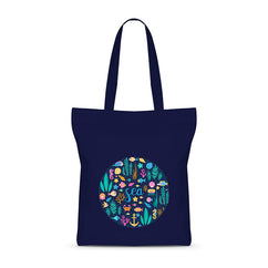 Witty Sea Basic Tote Bag