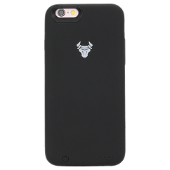 Black JuiceUp battery Case Without Memory For iPhone 6