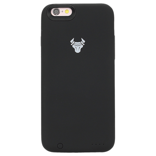 Black JuiceUp battery Case with memory For iPhone 6