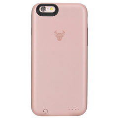 Rose Gold JuiceUp battery Case Without Memory For iPhone 6s