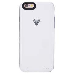 White JuiceUp battery Case with memory For iPhone 6s