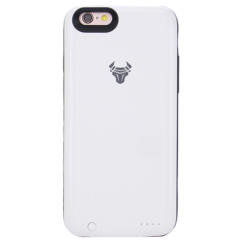 White JuiceUp battery Case with memory For iPhone 6