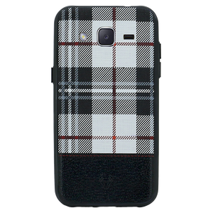 Checkered White Case For Galaxy J2 2016