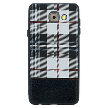 Checkered White Case For Galaxy J7 Max