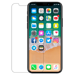 Clear Toughn Tempered Glass For iPhone X