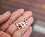 Camera Jewelry Camera Charm Camera Necklace