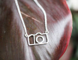 The best photographer gift for creatives the Click Click Camera Necklace