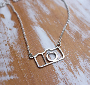 Camera Necklace great gift for photographer