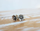 daisy flower jewelry earrings