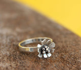 daisy ring flower jewelry