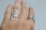 Rebellious Dreamer Dreamcatcher Ring with other Dreaming Tree Creations Rings
