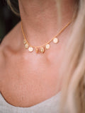 Glimmer Choker Necklace in Gold