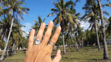 Under the Palm Tree Ring under the palm trees tropical jewelry