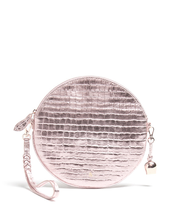 Bell & Fox Round Wristlet in Rose Gold