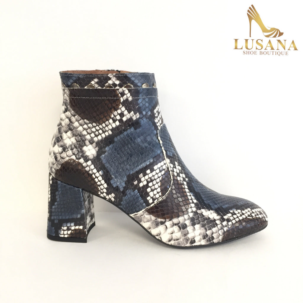 Marian Snakeprint Ankle Boot - New