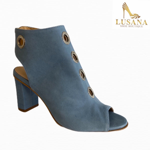 Oxitaly Blue Open Toe Boot