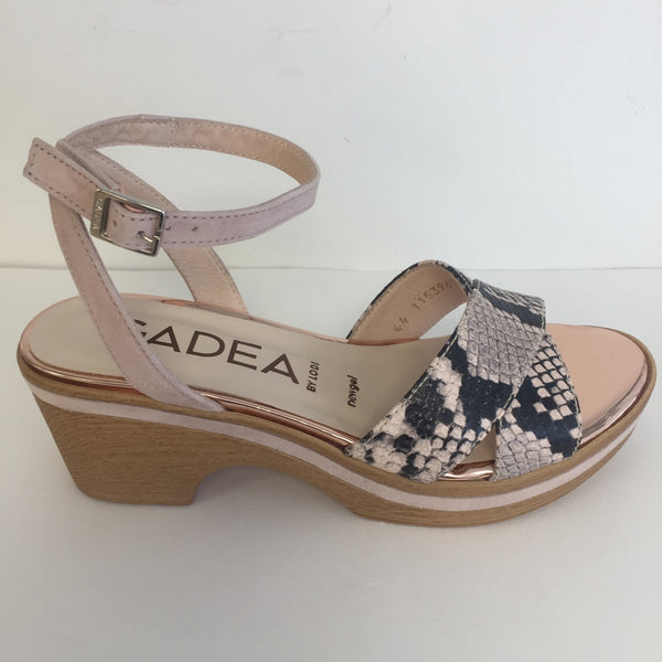 Gadea by Lodi Anaconda Candy Sandal - New