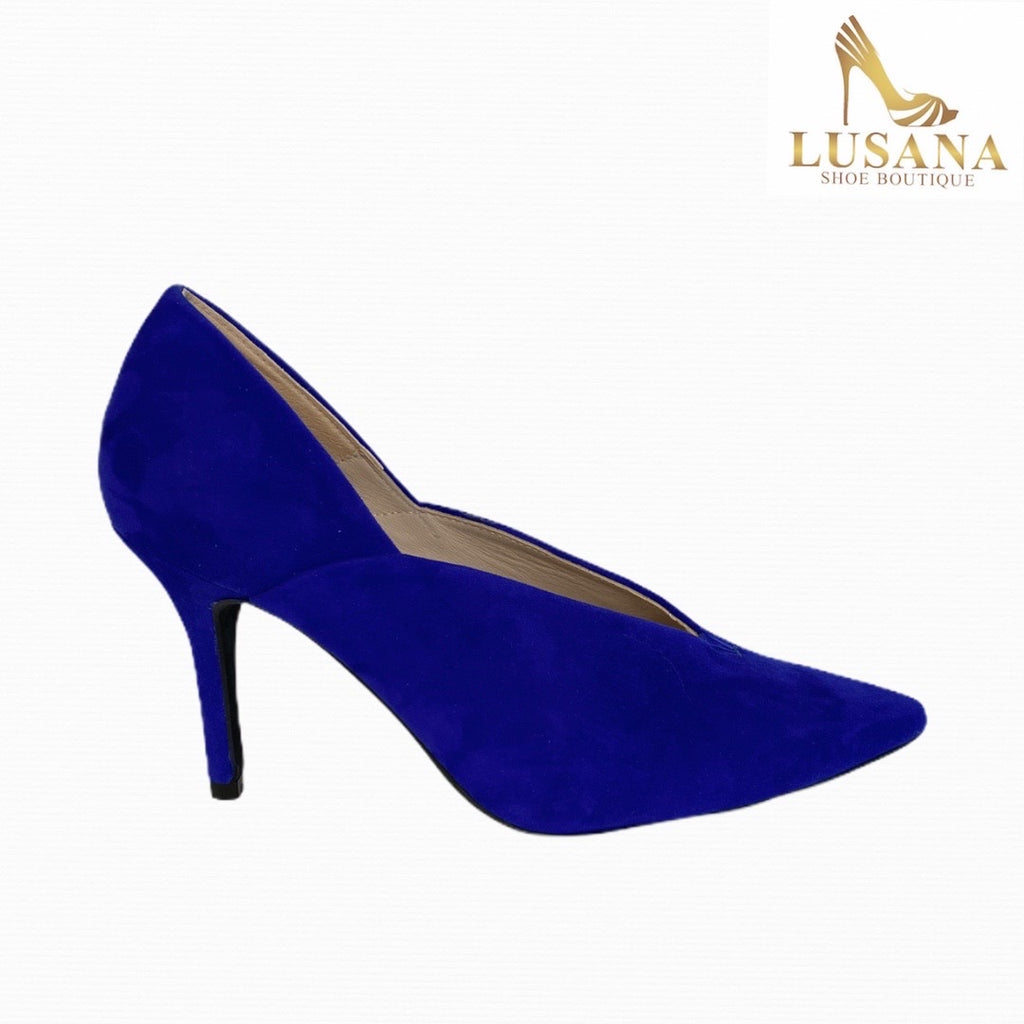 Marian Electric Blue Suede Shoe