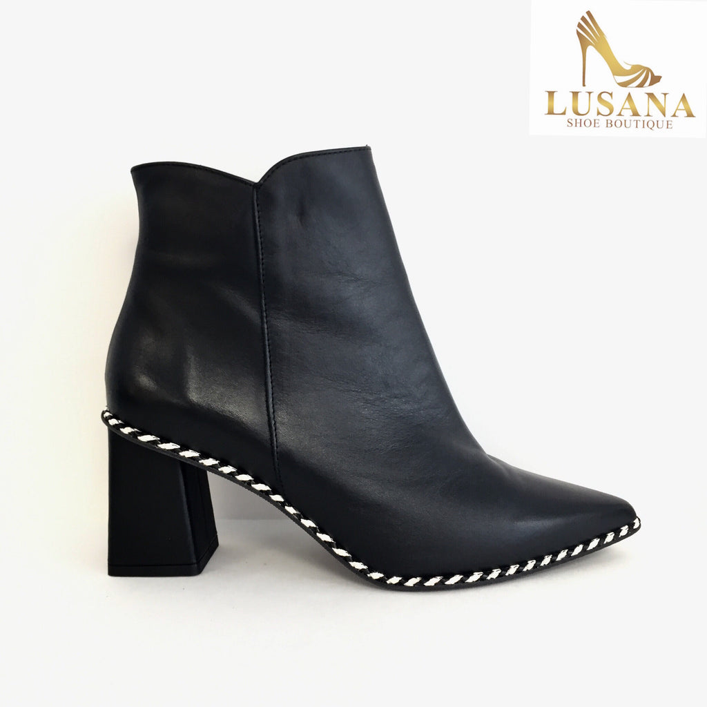 Marian Black Ankle Boot