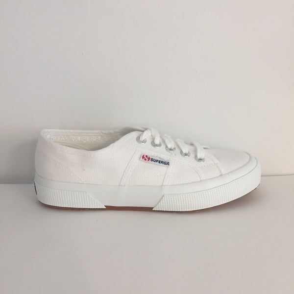 SUPERGA Cotu Classic 2750 White Trainers - New