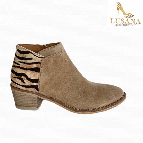 Alpe Sand Suede Ankle Boot - New