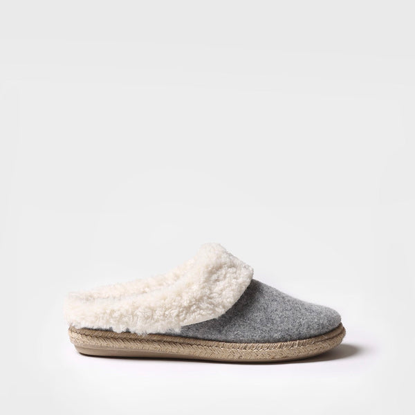 Toni Pons Miri BF Slipper in Grey