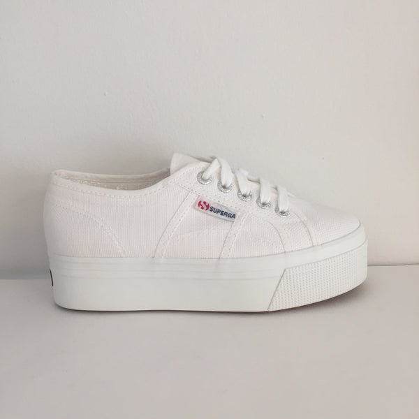 SUPERGA COTW Linea up and Down - White