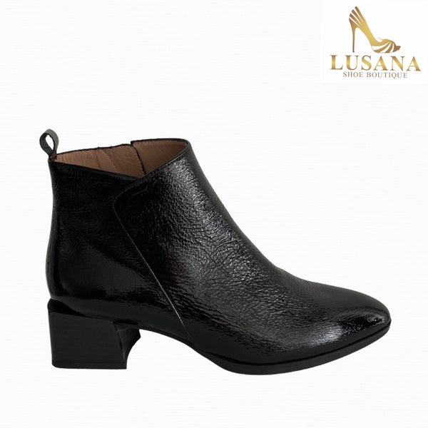 Hispanitas Alpes Rio Black Ankle Boot - New