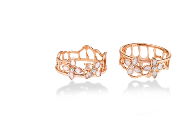 The Crown Stacking Ring Series