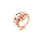 18K Rose Gold The Crown Blossom Ring