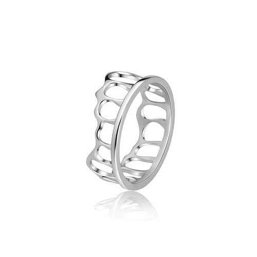 The Crown Stacking Ring