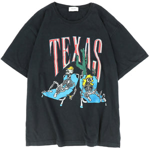 DON'T CRY TEXAS TEE / BLK