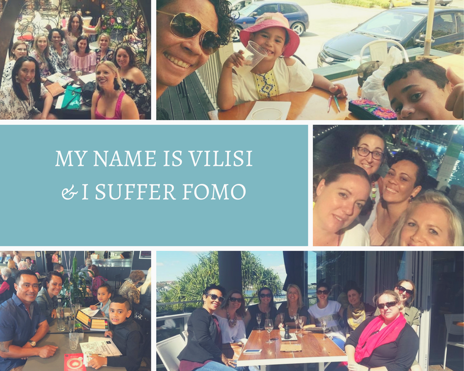 My name is Vilisi and I suffer FOMO…