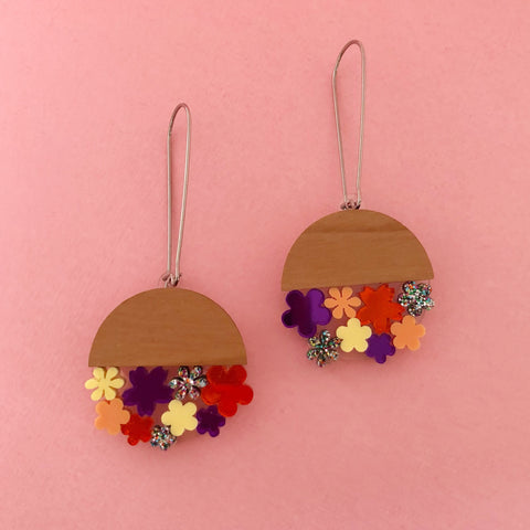 'Upside Down Hanging Flower' Dangles