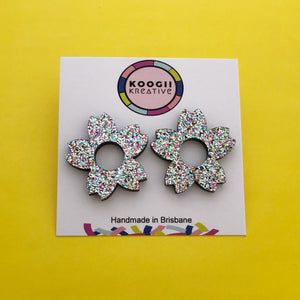 'Flower' Studs (choose colour)