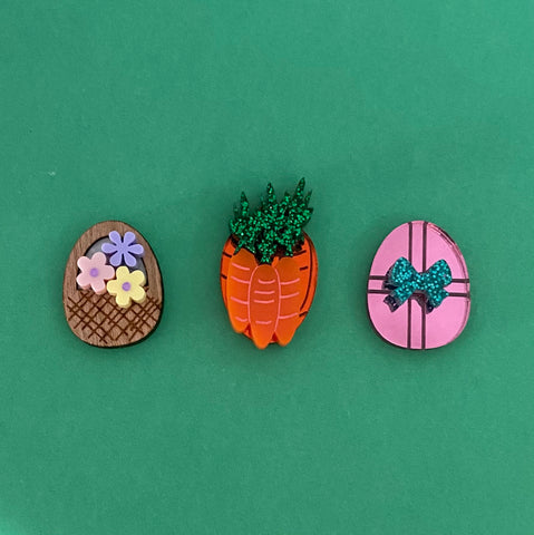 'Easter Mismatch' Trio Stud Set ***PRE ORDER***