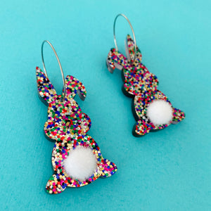 'Disco Bunny' Dangles