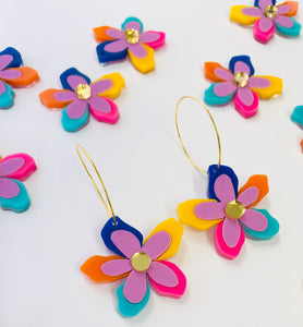 'Rainbow Bloom' Dangles