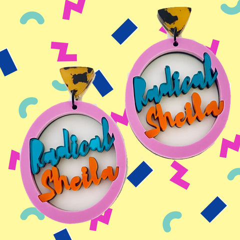 'Radical Sheila' Dangles
