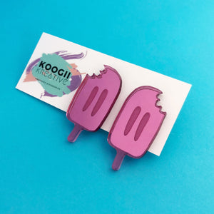 'Paddlepop' Studs (choose colour)