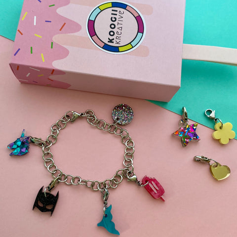 'Mini Me' Charm Bracelet (Choose Charm)