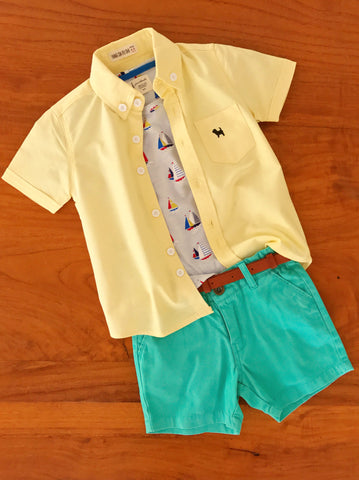 Hudson Shirt - Lemon