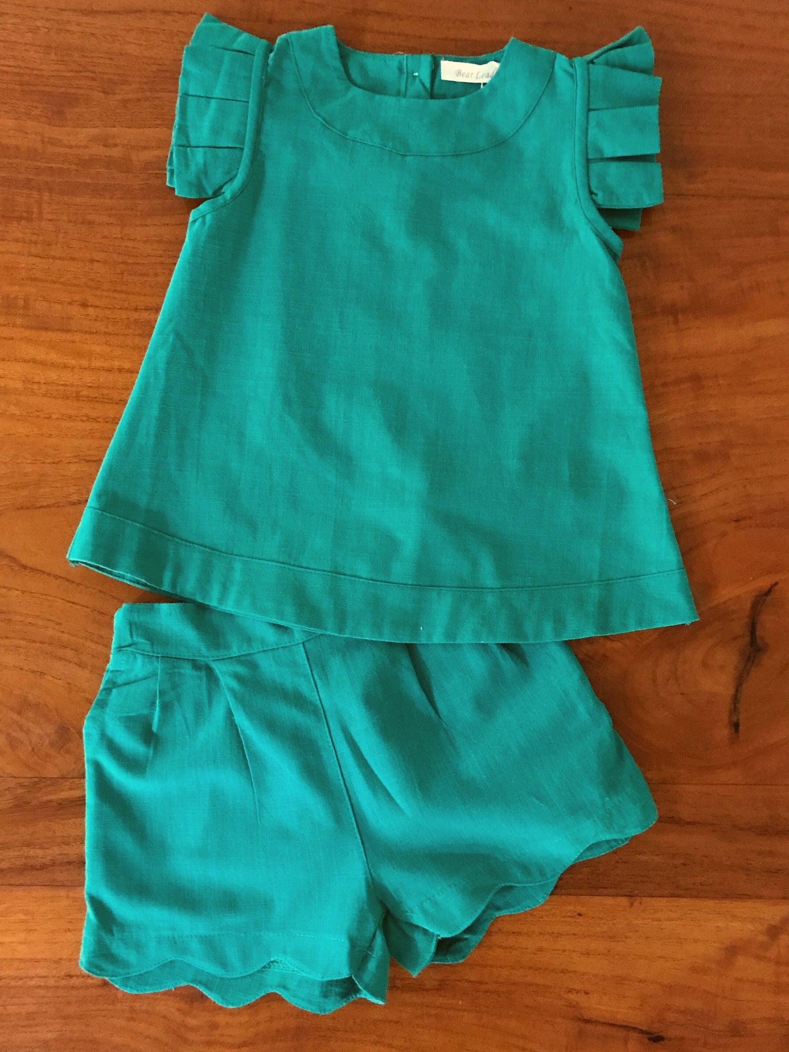 Holly Short Set - Green
