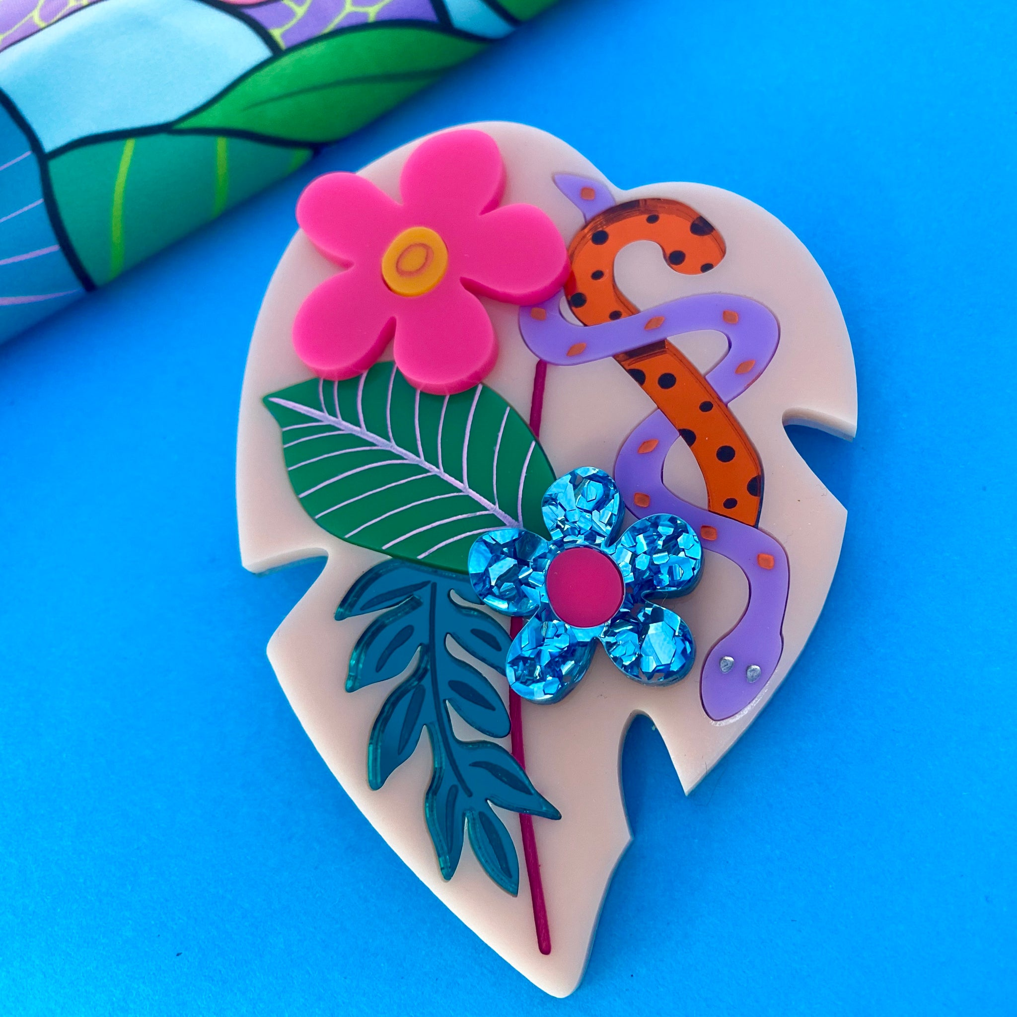 'Jungle Fever' Brooch