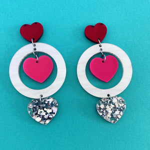 'Tracey' Drop Dangle (Love)