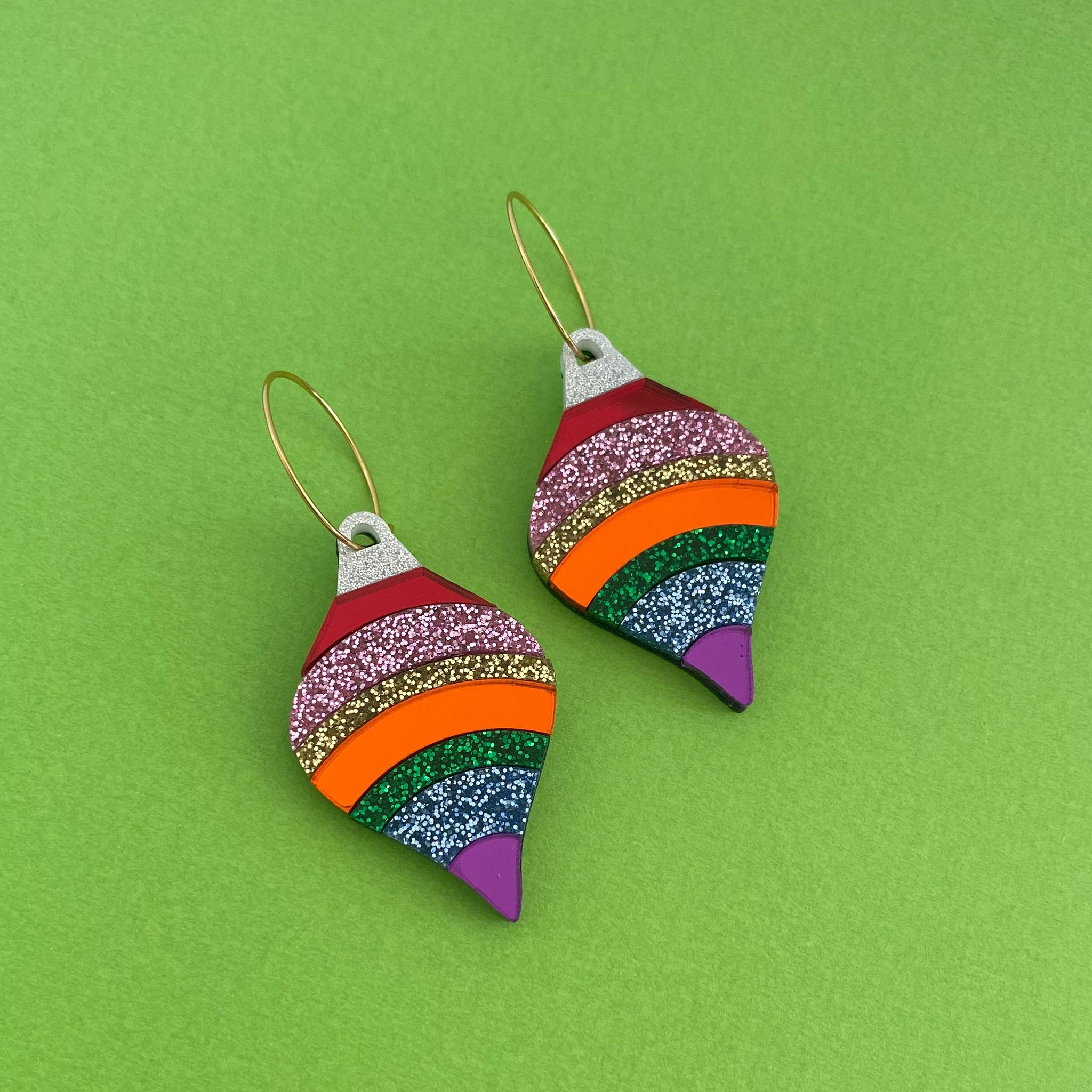 'Party Babe Bauble' Dangles